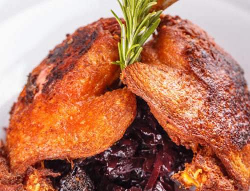 Martinsgans-Menü im Restaurant Parkcafé